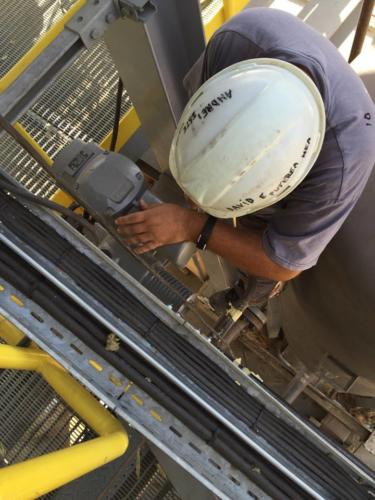 Certificate welding  piping on JPCR boiler site, Jordan 3