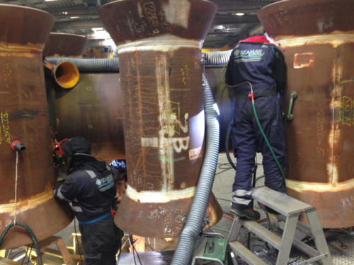 Certificate welding on jacket for Halfdan Field Aalborg, Denmark 2