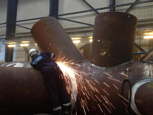 Certificate welding on jacket for Halfdan Field Aalborg, Denmark 3