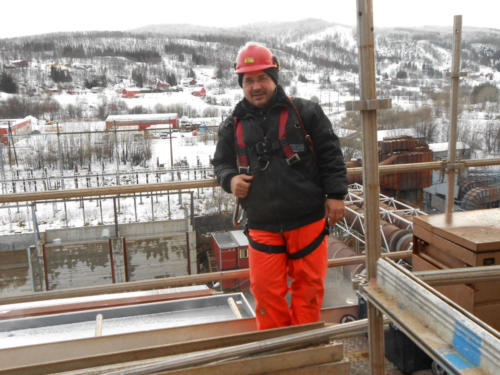 Electrical installation on Boiler SteamGen 10 Finnfjord, Norway 3