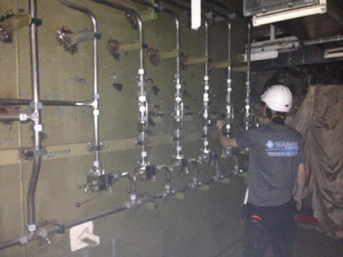 Hi Fog sprinkler installation on Jascon 18 Kwong Soon, Singapore 1